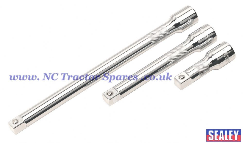 "Extension Bar Set 3pc 1/2""Sq Drive"